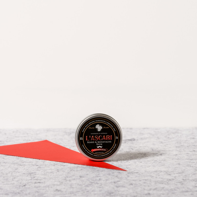 Beard and moustache balm