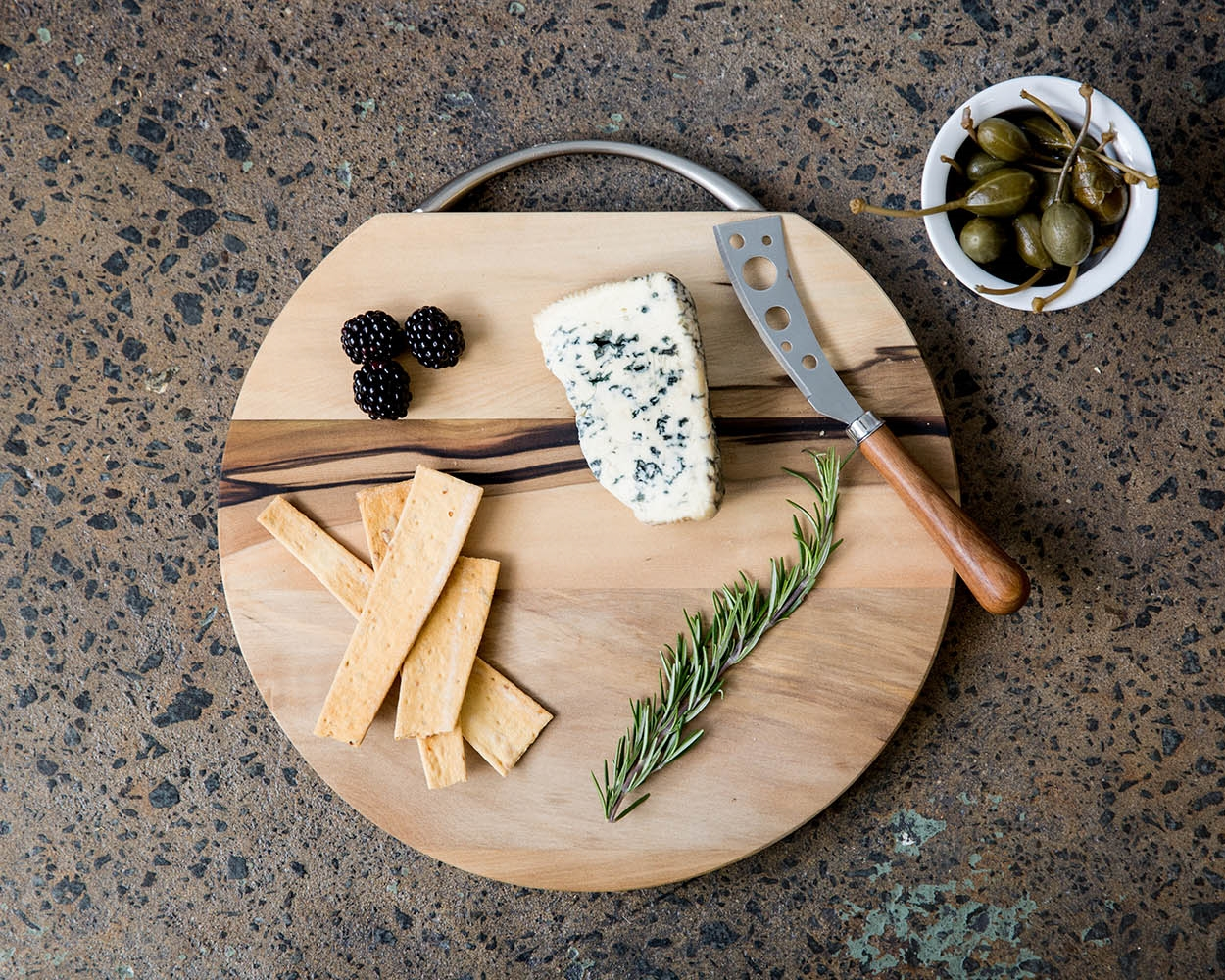 Large sassafras cheeseboard