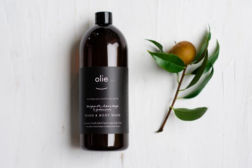 Bergamot and clary sage hand and body wash