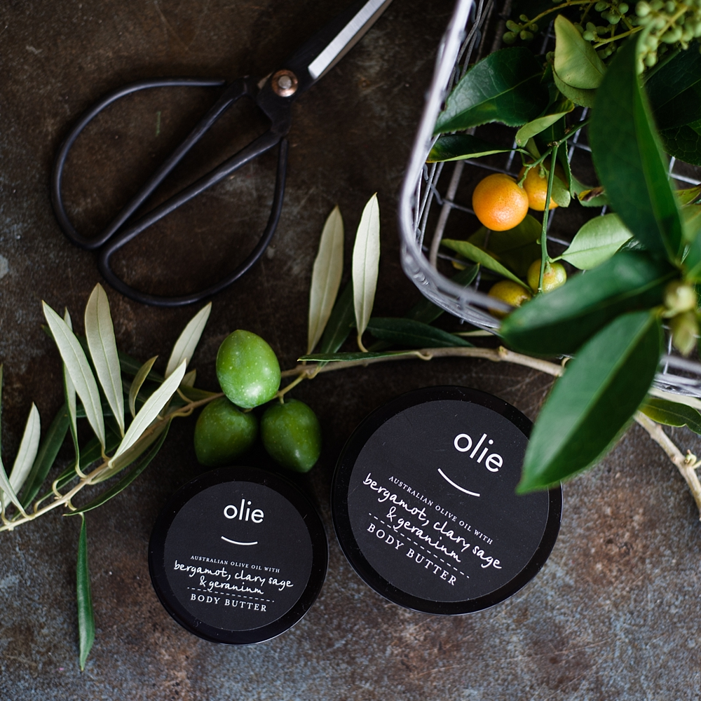 Bergamot and clary sage body butter