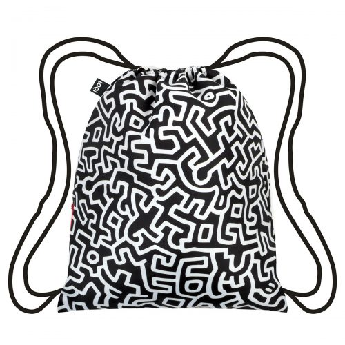 Backpack museum collection by keith haring