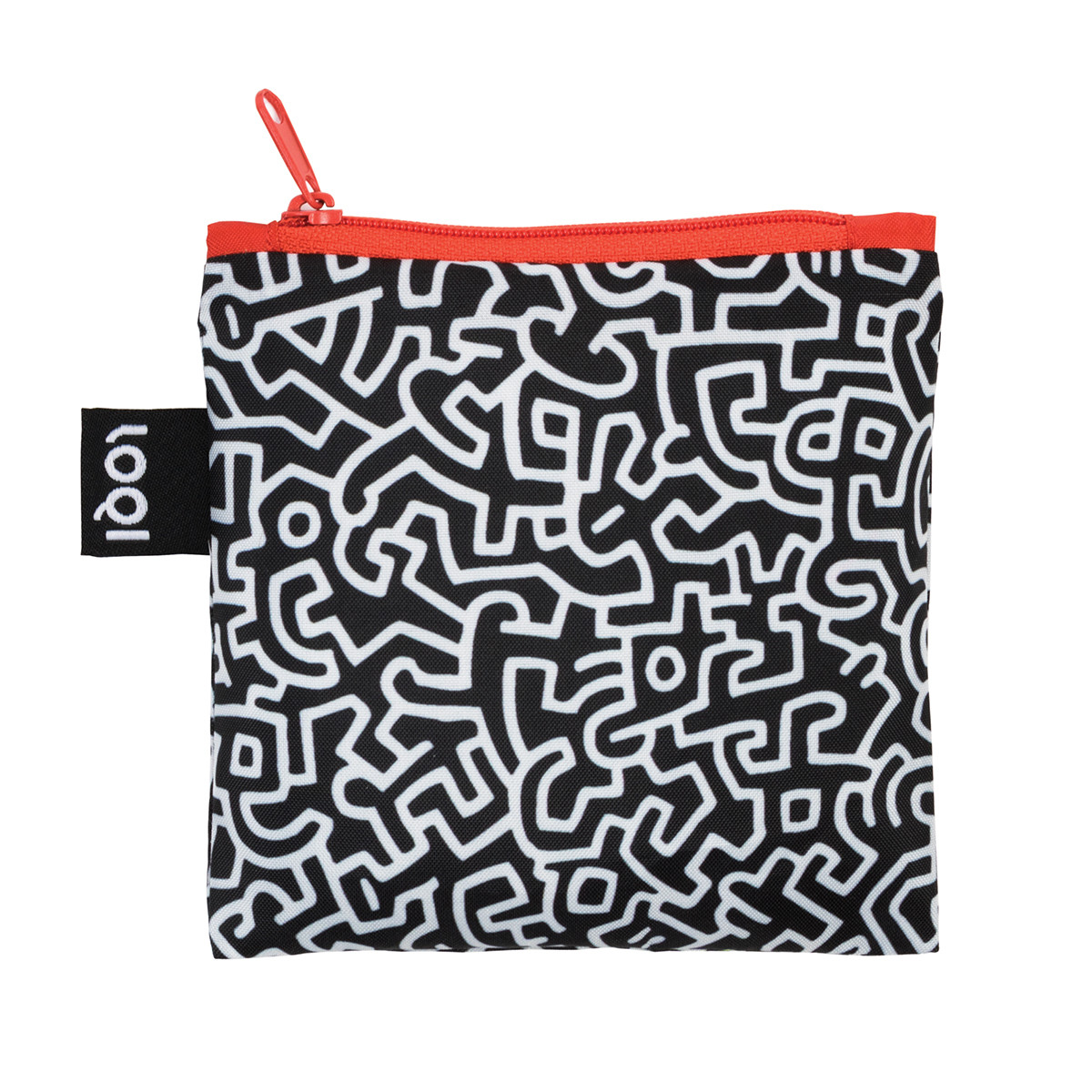 Shopping bag - museum collection by keith haring