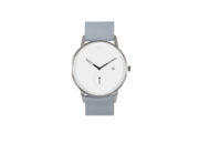 Modernist silver / grey watch