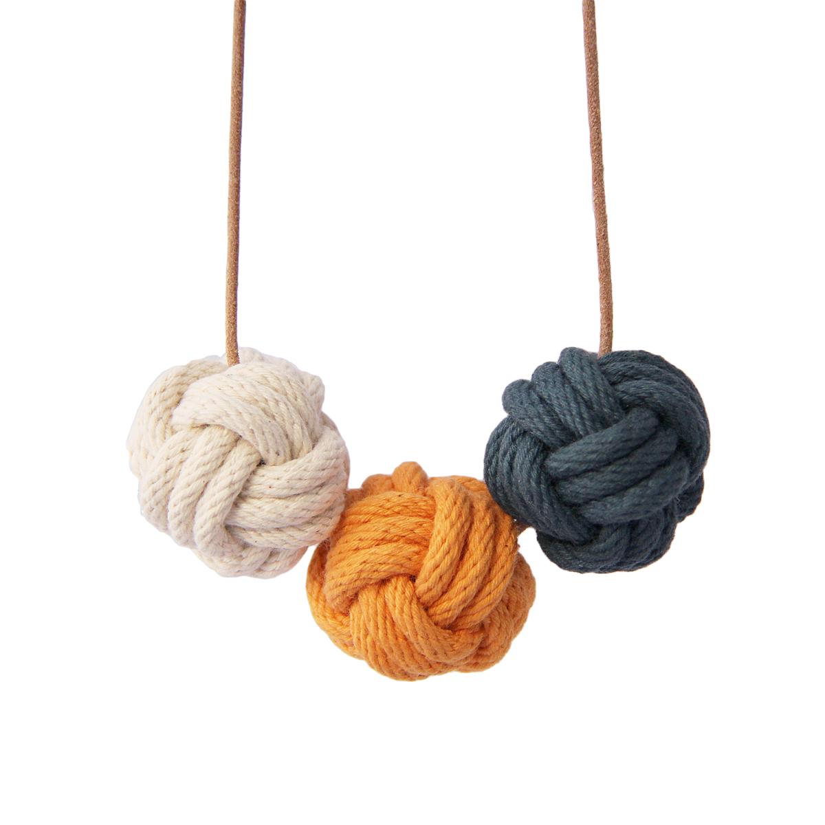 Nautical knot necklace venice