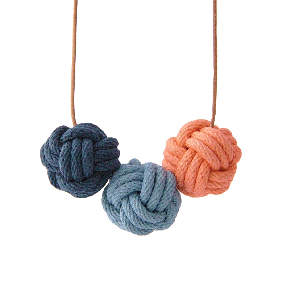 Nautical knot necklace portofino
