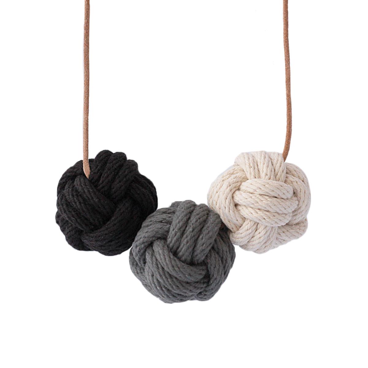 Nautical knot necklace melbourne
