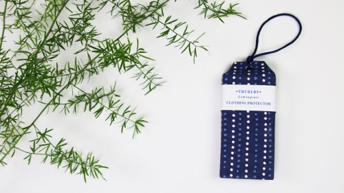 Lemongrass indigo clothing protector
